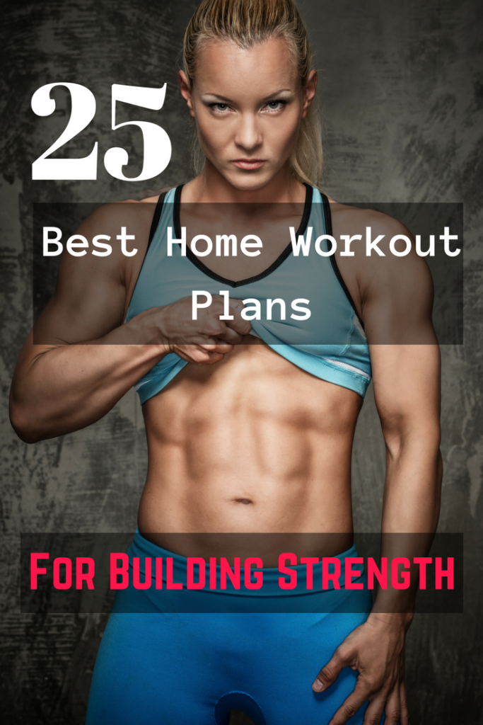 25 Best home workout plans